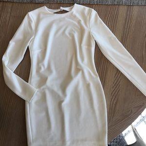 Bec & Bridge white body con mini dress